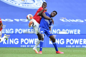 Super Eagles and Leicester City midfielder, Wilfred Ndidi