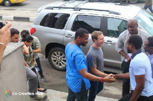 Facebook CEO, Mark Zuckerberg visited Lagos in 2019