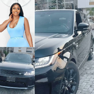 Lilian Afegbai's Range Rover