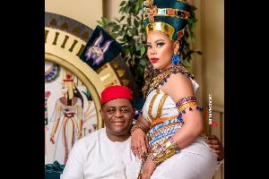 Femi Fani-Kayode and wife Precious