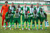 File photo: The Super Eagles