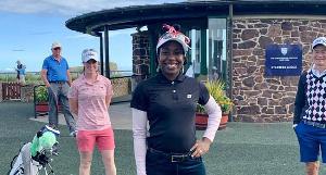 Nigeria's number one lady golfer, Georgia Oboh