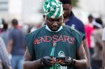 An End SARS protester