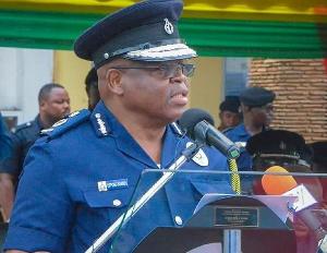 Ghana's Inspector-General of Police (IGP), James Oppong-Boanuh