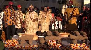 Igbo Yam Festival in Accra