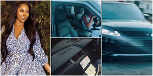 Nollywood actress Lilian Afegbai acquires new 2020 Range Rover