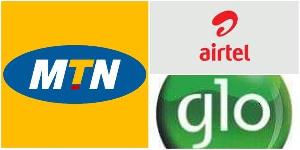 MTN Nigeria, Airtel and Glo brand logo