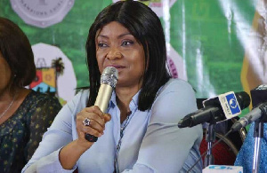 Chairperson of the Nigerian Women Football League, Aisha Falode