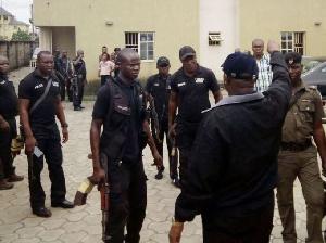 File photo: SARS officials