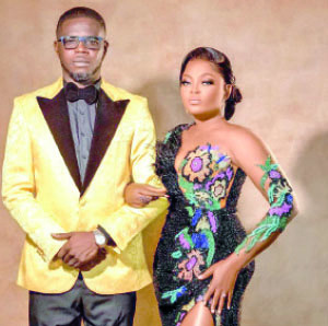 JJC Skillz, is happily married to star actress, Funke Akindele