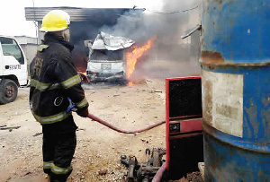 The fire spread to adjoining buildings affecting 23 of them