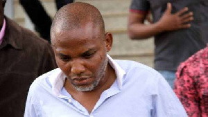 Nnamdi Kanu is the leader of the Indigenous People of Biafra (IPOB)