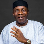 Senator John Akpan Udoedehe, National Secretary, All Progressives Congress (APC) Caretakerxtraordi