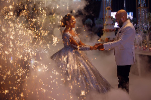 The duo tied the knot in August