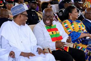 President Muhammadu Buhari and President Nana Akufo-Addo