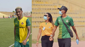 Wife of Lucas Alves playing in Nigerian league names eba and egusi soup as her favourite
