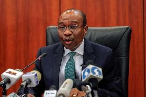Central Bank Governor, Godwin Emefiele