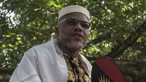 leader of the proscribed Indigenous People of Biafra (IPOB), Nnamdi Kanu
