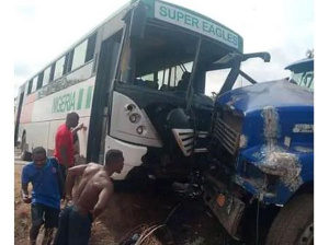 Akwa United were involved in an accident early this year