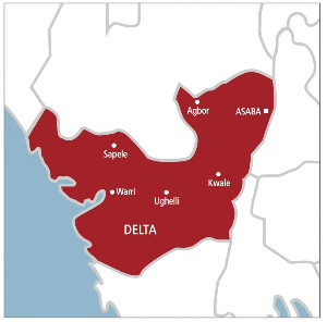 File photo: Delta State map