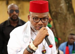 Nnamdi Kanu, Leader of the Indigenous People of Biafra was arrested on Sunday