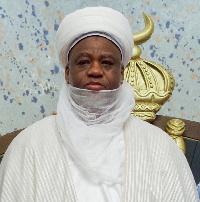 Sultan of Sokoto & president-general NSCIA - Sa'adu Abubakar