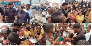 Victor AD distributes free food on his birthday