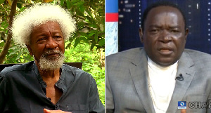 Wole Soyinka and Bishop Matthew Kukah