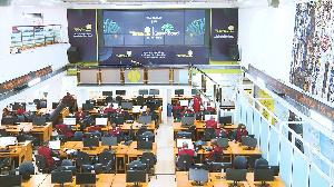Nigeria stock exchange trading floor