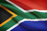 File photo: South Africa's flag