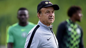 Gernot Rohr has not been paid for six month