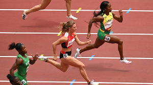 Grace Nwokocha misses out 200m medals event.