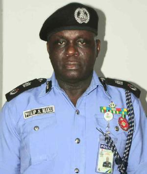 Mr Philip Maku, Bauchi Police Commissioner