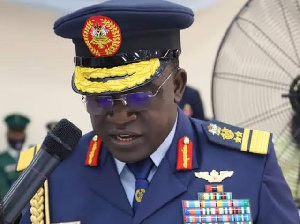 Spokesperson for the Nigerian Air Force, Air Commodore Edward Gabkwet