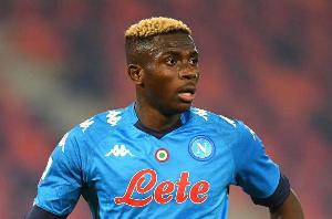 Napoli striker, Victor Osimhen