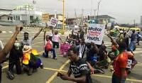 EndSARS protest turns violent