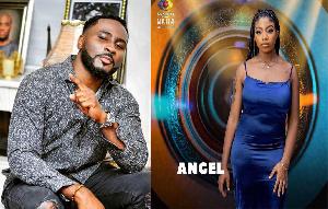 Big Brother Naija housemate Angel and Pere