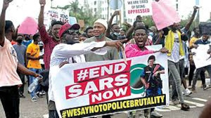 Nigerians fight against police brutality