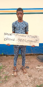 Julius Afuape has been arrested  for defiling 13 year old girl