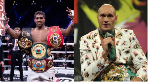 Anthony Joshua will take a massive pay cut to fight Tyson Fury