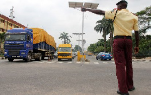 LASTMA official at work.