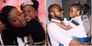 Davido and daughter Sophia