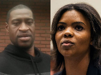 George Floyd and Candace Owens