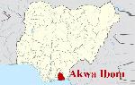 File photo: Akwa Ibom State map