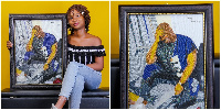 Nigerians have praised her for the artwork
