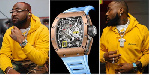 Davido acquired a luxury Richard Mille RM030 Automatic valued at over N58 million ($120,000)