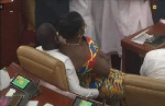 GHANA: How female MP ended up on male MPs laps in Parliament