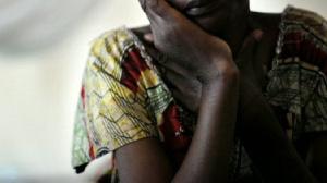 Rape victim file photo