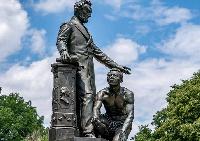 The Emancipation Memorial in Washington's Lincoln Park (J. Scott Applewhite/AP)
