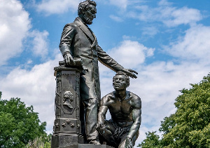 The Emancipation Memorial in Washington's Lincoln Park (J. Scott Applewhite/AP)